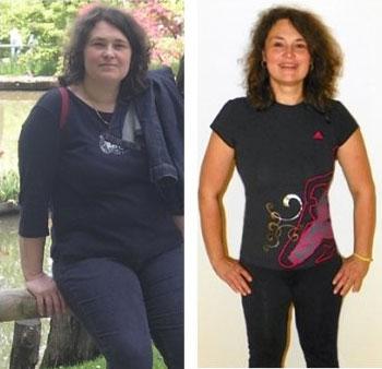 Neverjetna preobrazba. V 5 mesecih 21 kg manj!