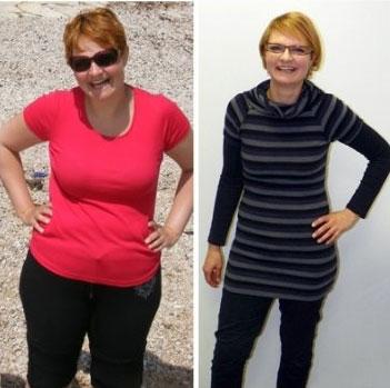 Izjemna preobrazba. Mateja je odpravila 19 kg v 7 mesecih!
