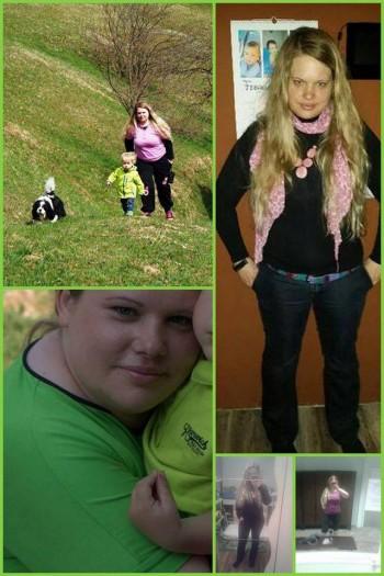 V 9ih mesecih lažja za 35 kilogramov!